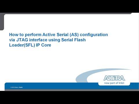 Active Serial Configuration via JTAG
