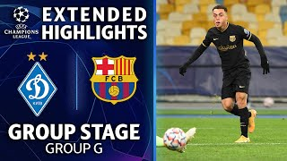 Dynamo Kyiv vs. Barcelona: Extended Highlights | UCL on CBS Sports