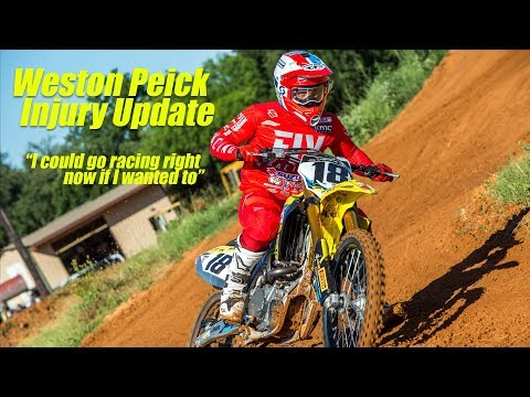 Weston Peick Injury Update - Motocross Action Magazine