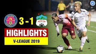 Highlights Sài Gòn 3-1 HAGL | Hồng Duy lập siêu phẩm không thể tin nổi - HAGL thua trong thủy chiến