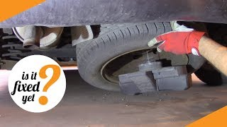 Where to find and how to remove the SPARE WHEEL - Peugeot 307 SW (2005)
