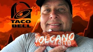 Taco Bell® | The New Volcano Quesarito REVIEW!