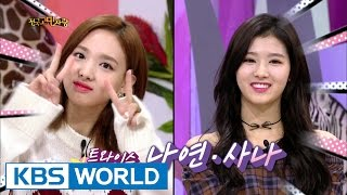 Hello Counselor - Kim Sungkyung, Nayeon, Sana [ENG/TAI/2016.10.31]
