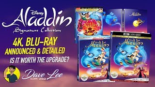 ALADDIN: DISNEY SIGNATURE COLLECTION - 4K, Blu-ray Announced & Detailed (Is It Worth the Upgrade?)