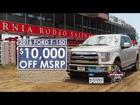 "Salinas Valley Ford - ""AND THAT'S NO BULL!"" - F-150 Deals"