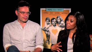 Jemaine Clement and Regina Hall on