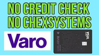Reports to all 3 Bureaus! $10,000 Primary Tradeline! No Credit Check! No Chexsystems! Varo Bank Visa