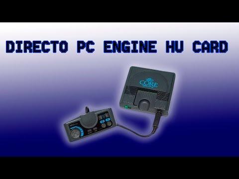 Directo Pc engine juegos Hu´card con amigos