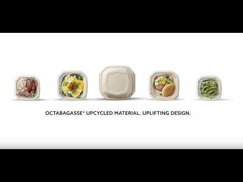 Discover the sustainably-designed Octabagasse take-away box concept