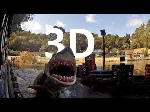 Jaws! (3D) Universal Studios Hollywood Studio Tour