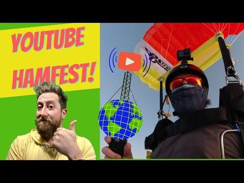 SURPRISE! Parachute Mobile LIVE! Youtube HamFest 2021