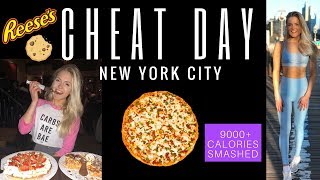 EPIC NYC CHEAT DAY | 9000+ Calories | GIRL VS FOOD | New York City Edition
