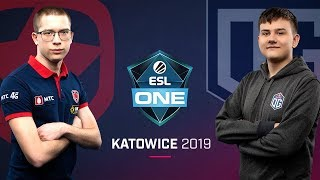Dota 2 - OG vs. Gambit - Game 1 - Group A Ro3 - ESL One Katowice 2019