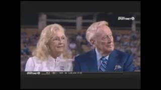 Kevin Costner's Tribute to Vin Scully on Behalf of Dodger Fans