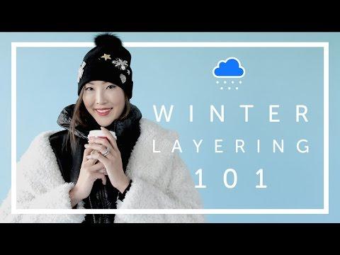 Winter Layering 101 Lookbook