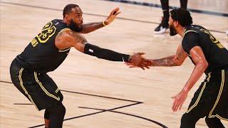 Lakers Bounce Back, LeBron 2 Lobs Game 2 vs Rockets! 2020 NBA Playoffs