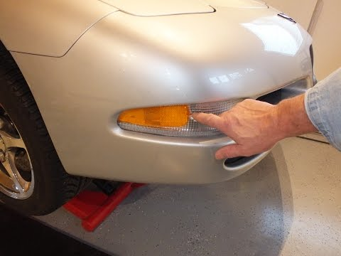 Corvette C5 turn signal, park light and side marker replacement