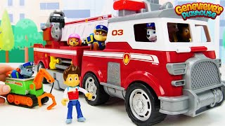 Toy Learning Video for Kids with Paw Patrol Ultimate Rescue Vehicles! - YouTube