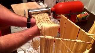 How to make fresh pasta dough with a KitchenAid mixer & pasta attachments