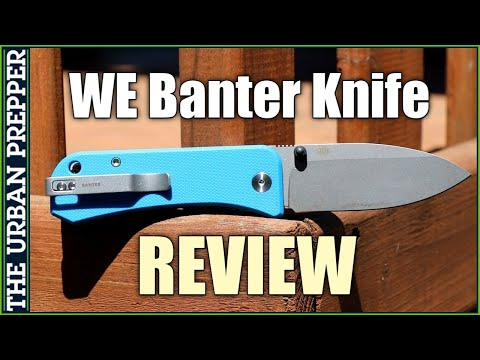 WE Banter Knife Review