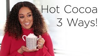 Tia Mowry's Hot Chocolate Recipes For The Holidays | Quick Fix