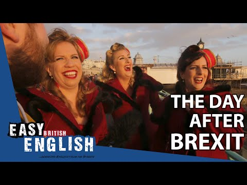 How do British people feel after Brexit? | Easy English 39 photo