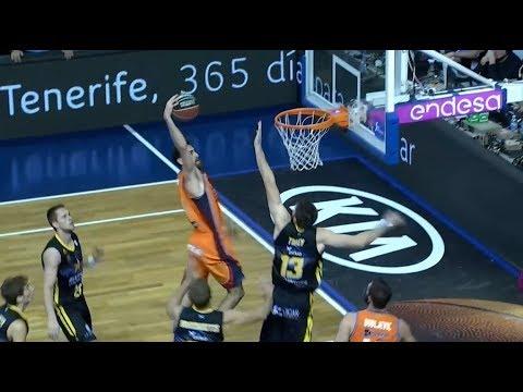 Iberostar Tenerife vs Valencia Basket