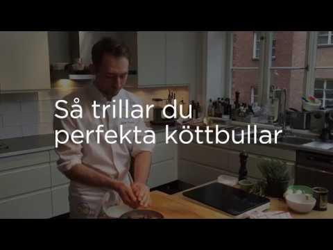 Så trillar du perfekta köttbullar - Johan Backeus tipsar