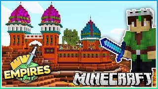 The Gateway to Enchantment!   Empires SMP   Ep.3 (1.17 Survival)