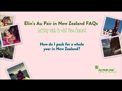 Au Pair FAQs with Elin (Getting Ready to Visit New Zealand)