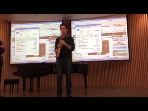 Eric Marienthal Sax Clinic in Taipei (part 3/3) (2012/11/27)