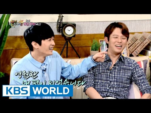 Tony and Jae-duck, seems like a couple whatever they do [Happy Together/2016.07.07]