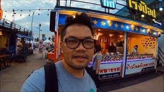 Nok hoog market ( owl market ) - thai food in bangkok street food ตลาดนกฮูก