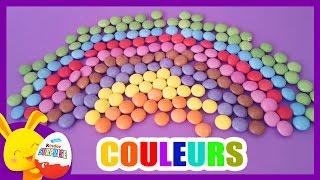 Apprendre les couleurs avec les bonbons Smarties - Arc en ciel -Touni Toys - Titounis