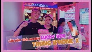 LẦN ĐẦU CHƠI LUCKY BOX TRÚNG IPHONE X
