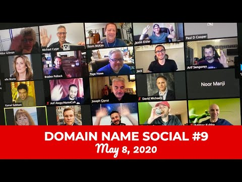 Michael Cyger's Domain Name Quarantine Social #9 (May 8, 2020)