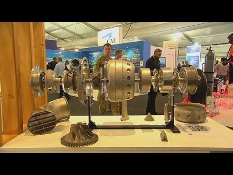 World's first 3D printed jet engine is unveiled