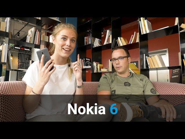 Belsimpel-productvideo voor de Nokia 6 Silver