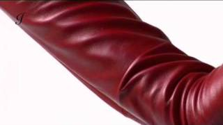 f3dfe5dab6a84 Long Leather Gloves by Ines | for Ladies and Men - YouTube