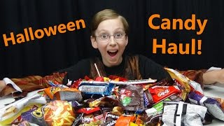 HALLOWEEN CANDY HAUL 2016 | KIDS CANDY TASTE TEST REVIEW | COLLINTV