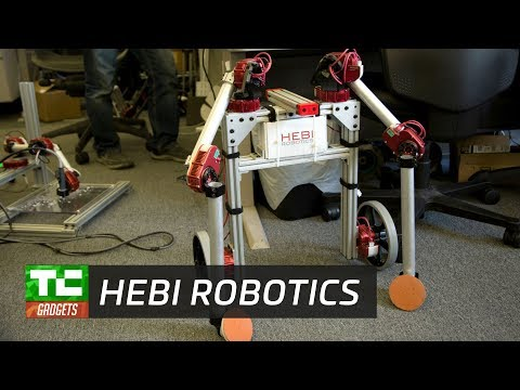 HEBI aims to make custom robots as easy as LEGO
