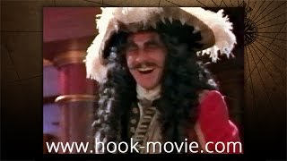 Hook - Behind the scene - Captain Hook's first appearance