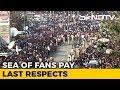 Sea of Fans Bid Farewell to Sridevi