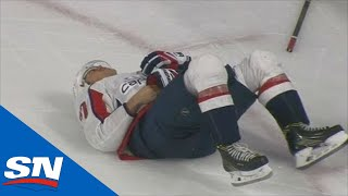 Bonus Angles of Warren Foegele's Dirty Hit That Knocked TJ Oshie Out Of The Series