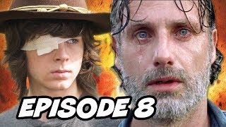 Walking Dead Season 8 Episode 8 - Mid Season Finale TOP 10 WTF and Easter Eggs