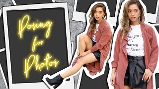 How To Pose For Photos   10 Easy Poses For Instagram   clothesencounters