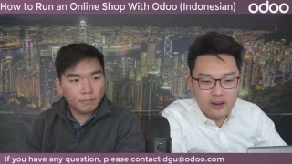 Webinar Indonesian - How to Run an Online Shop With Odoo