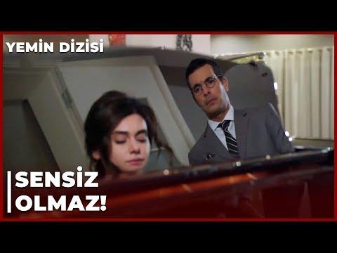 Narin, Kemal'e Piyano Çalıyor! - Yemin 154. Bölüm