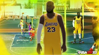 LEBRON JAMES RETURNS and SHUTS DOWN the PARK in NBA2K19 **PLAYOFF LEBRON**
