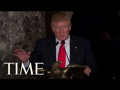 Donald Trump Applauds Hillary Clinton At His Inaugural Luncheon   Donald Trump Inauguration   TIME